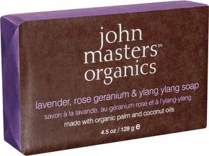 John Masters Lavender, Rose Geranium and Ylang-Ylang | Mydło nawilżające 128g - Wysyłka w 24H!