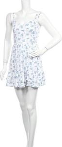 Sukienka Hollister Co. mini z okrągłym dekoltem w stylu casual