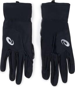 Czarne rękawiczki ASICS
