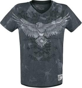 T-shirt Emp z nadrukiem z bawełny