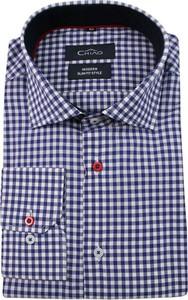 Granatowa koszula Chiao