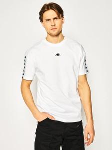T-shirt Kappa z krótkim rękawem z nadrukiem