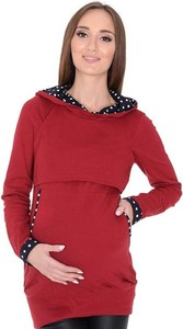 Czerwona bluza Mijaculture