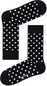 Czarne skarpetki Happy Socks w stylu casual
