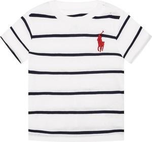 Koszulka dziecięca POLO RALPH LAUREN w paseczki z krótkim rękawem
