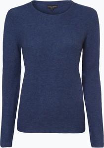 Niebieski sweter Franco Callegari z wełny