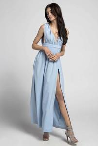 Sukienka Nommo z dekoltem w kształcie litery v bez rękawów