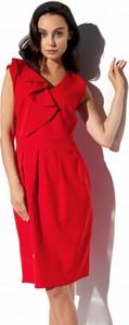Sukienka Lemoniade z dekoltem w kształcie litery v ołówkowa bez rękawów