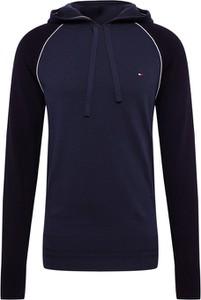 Niebieska bluza Tommy Hilfiger z tkaniny