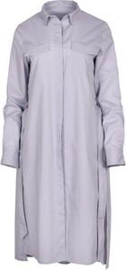 Sukienka Veva z długim rękawem z bawełny