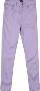 Fioletowe spodnie dziecięce Gap