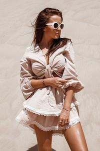 Spódnica Rose Boutique midi z bawełny