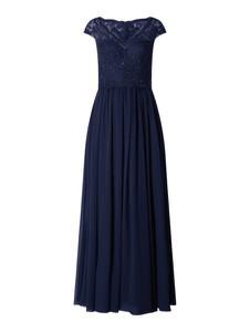 Sukienka Luxuar z szyfonu maxi