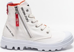 Buty Palladium PAMPA HI OUTZP PUOTP 77023-116 WHITE/RED