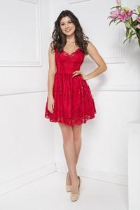 Czerwona sukienka Marcelini
