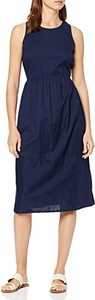 Sukienka amazon.de bez rękawów z okrągłym dekoltem