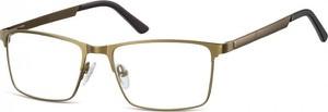 Stylion Oprawy okularowe zerówki metalowe Sunoptic 997F