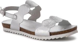 Sandały Marco Tozzi w stylu casual ze skóry