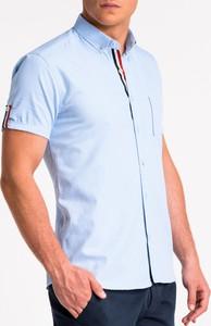 Koszula Ombre z krótkim rękawem