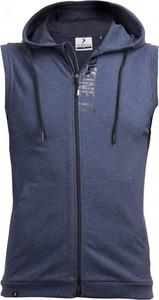 Niebieska kamizelka Outhorn z bawełny w sportowym stylu