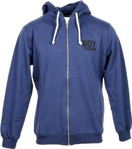 Niebieska bluza BOY LONDON z bawełny