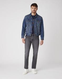 Granatowa kurtka Wrangler z jeansu