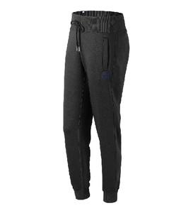 Czarne spodnie sportowe New Balance z dresówki