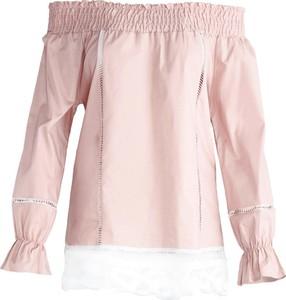 Born2be różowa bluzka beyond belief