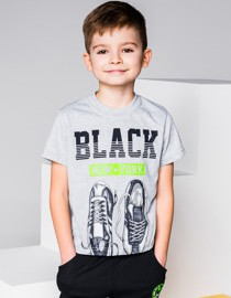 Koszulka dziecięca ombre clothing w street stylu z bawełny