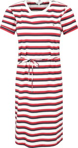 Sukienka Tommy Hilfiger w stylu casual z krótkim rękawem mini