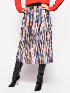 Spódnica Hugo Boss z nadrukiem midi w stylu klasycznym