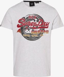 T-shirt Superdry z nadrukiem z dżerseju z krótkim rękawem