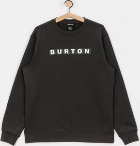 Czarna bluza Burton z bawełny