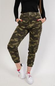 Spodnie Olika w militarnym stylu