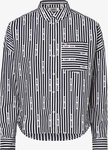 Koszula Tommy Jeans z długim rękawem w stylu casual z kołnierzykiem