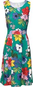 Sukienka bonprix BODYFLIRT boutique z okrągłym dekoltem w stylu casual
