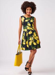 Sukienka Smashed Lemon bez rękawów