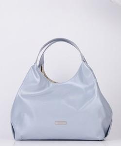 Niebieska torebka FEMESTAGE Eva Minge w stylu glamour