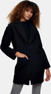 Czarny płaszcz Topshop