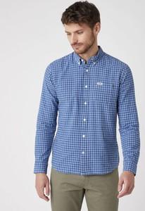 Niebieska koszula Wrangler w stylu casual