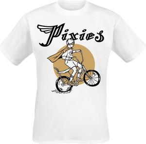 T-shirt Emp z nadrukiem z bawełny z krótkim rękawem
