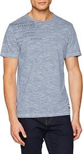 Niebieski t-shirt S.Oliver z krótkim rękawem