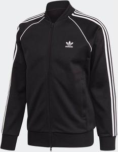 Czarna bluza Adidas Originals z dresówki