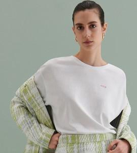 Bluzka Reserved z okrągłym dekoltem