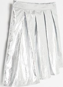 Srebrna spódniczka dziewczęca Reserved