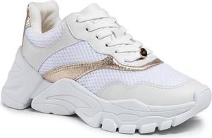 Buty sportowe Eva Longoria sznurowane na platformie