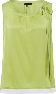 Zielona bluzka More & More w stylu casual