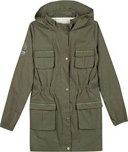 Zielona kurtka dziecięca Chipie