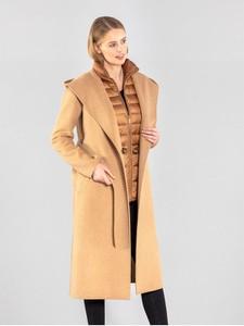 Płaszcz Ochnik w stylu casual z wełny