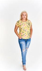 Żółta bluzka Fokus